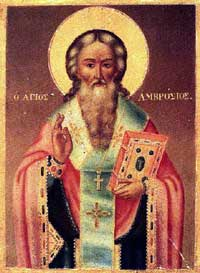 Icon of St. Ambrose