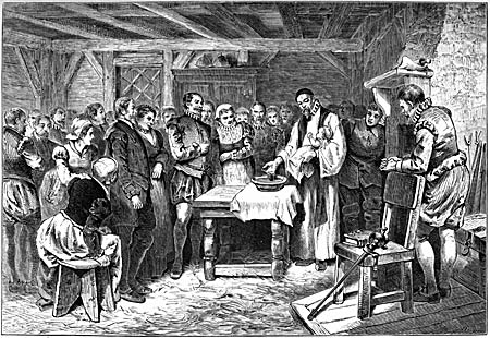 baptism of Virginia Dare