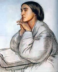 Christina Rossetti, by her brother Dante