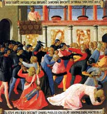 Slaughter of the Innocents, by Fra Angelico
