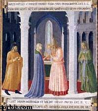 The Presentation, by Fra Angelico